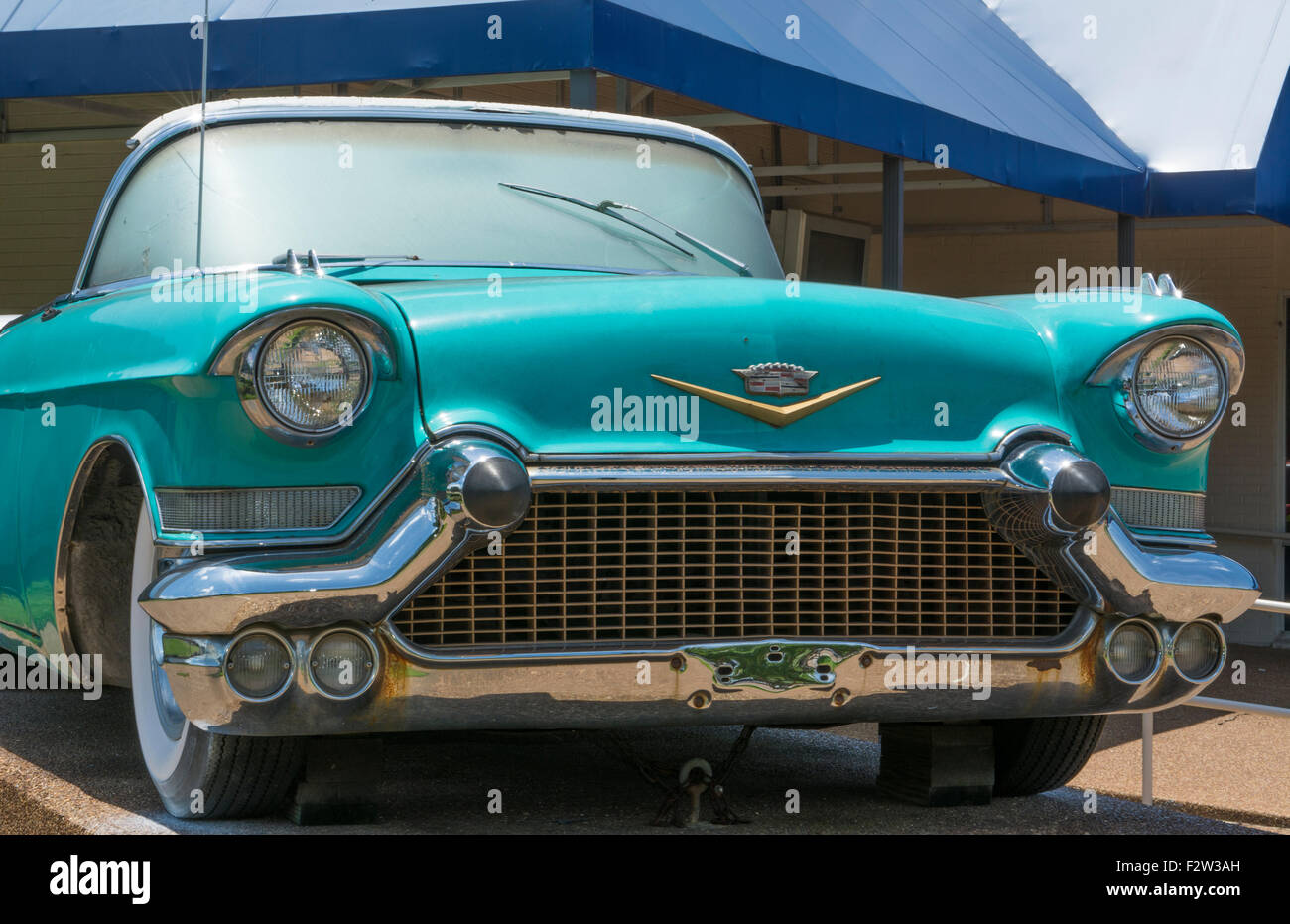 Cadillac Of Memphis >> Memphis Tennessee Blue Cadillac Of Elvis Presley At