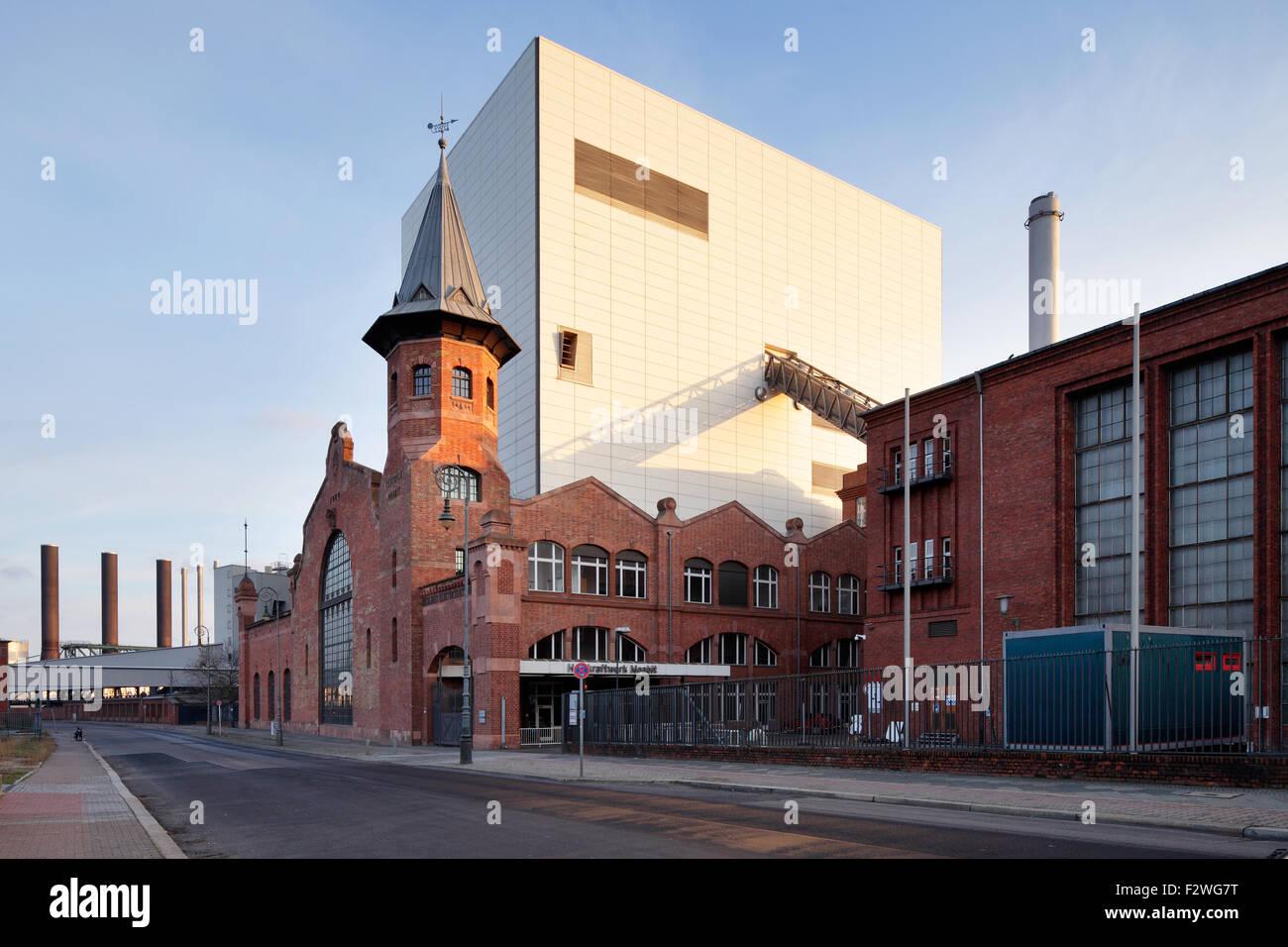 18.01.2015, Berlin, Berlin, Germany - Kraftwerk Moabit at Friedrich-Krause-Ufer in Berlin-Moabit. 00P150118D060CAROEX.JPG Stock Photo