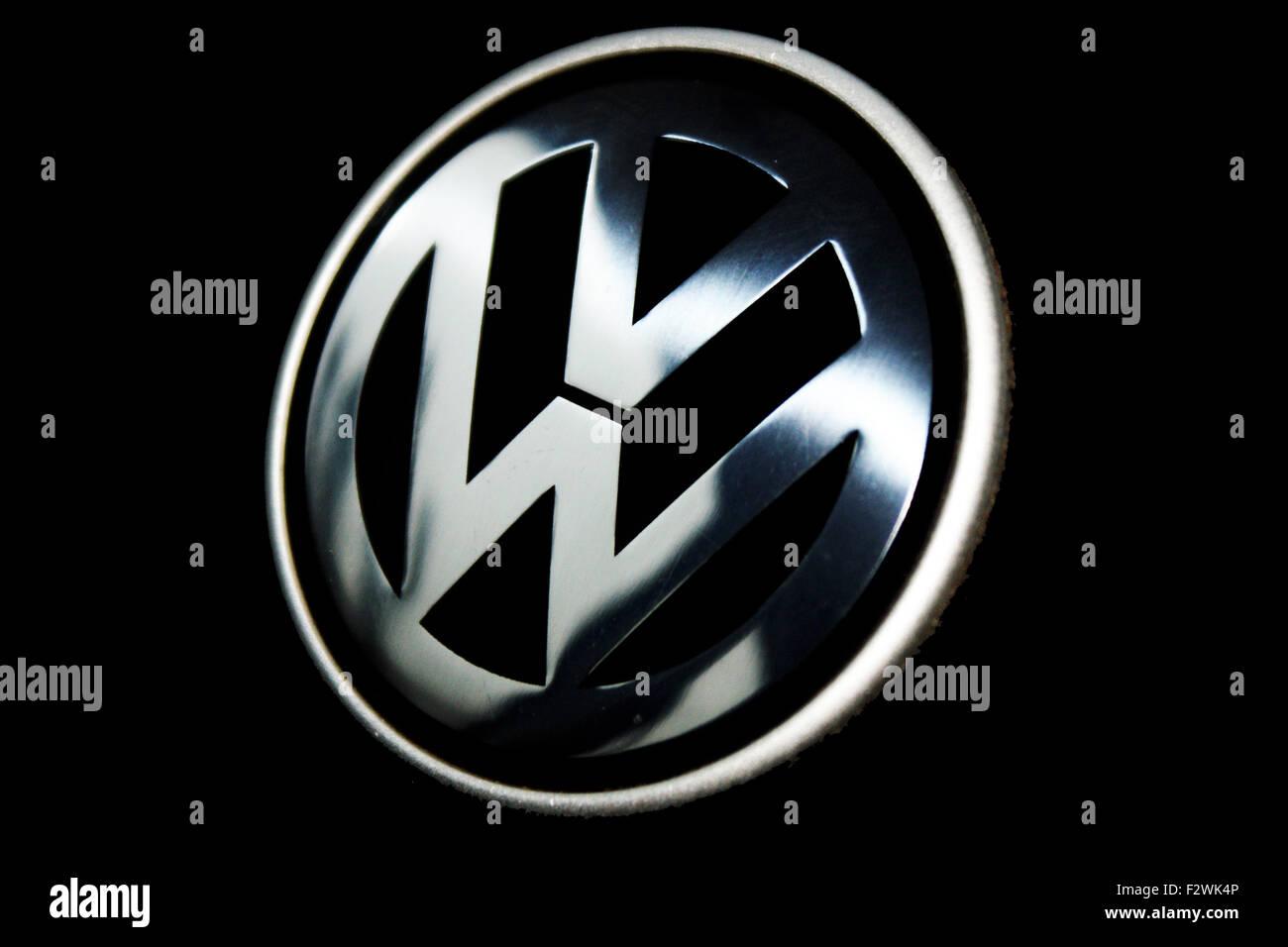 Volkswagen logo VW - Stock Image