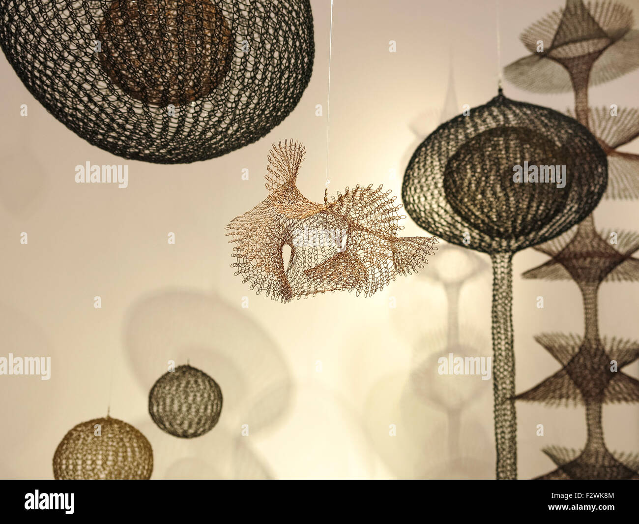 Ruth Asawa Artwork at Christie\'s Inc. Auction House, New York City ...