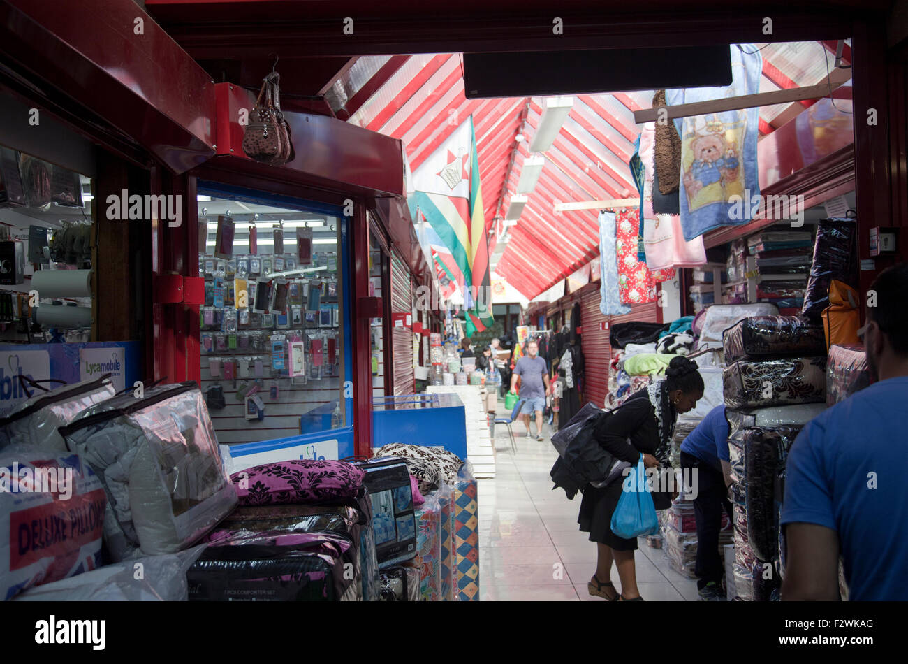 Tooting Indoor Flea Market - London, Tooting SW17 - UK - Stock Image