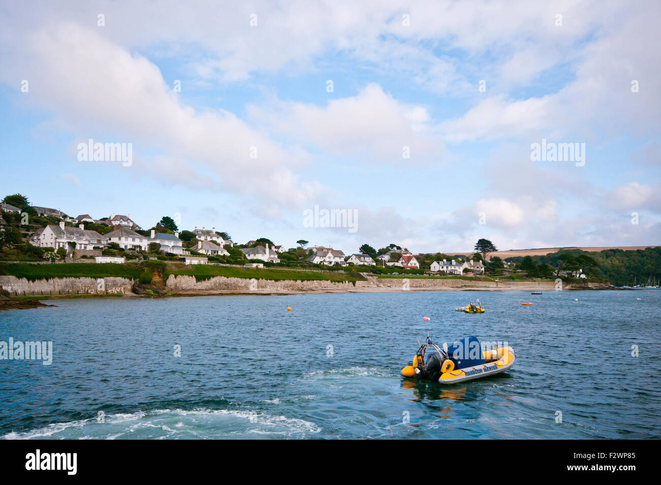 St Mawes Cornwall England UK - Stock Image