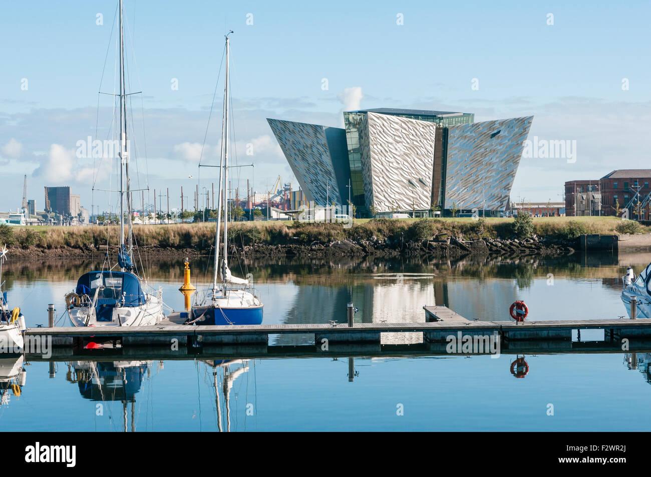 Titanic Visitor Centre, Belfast - Stock Image