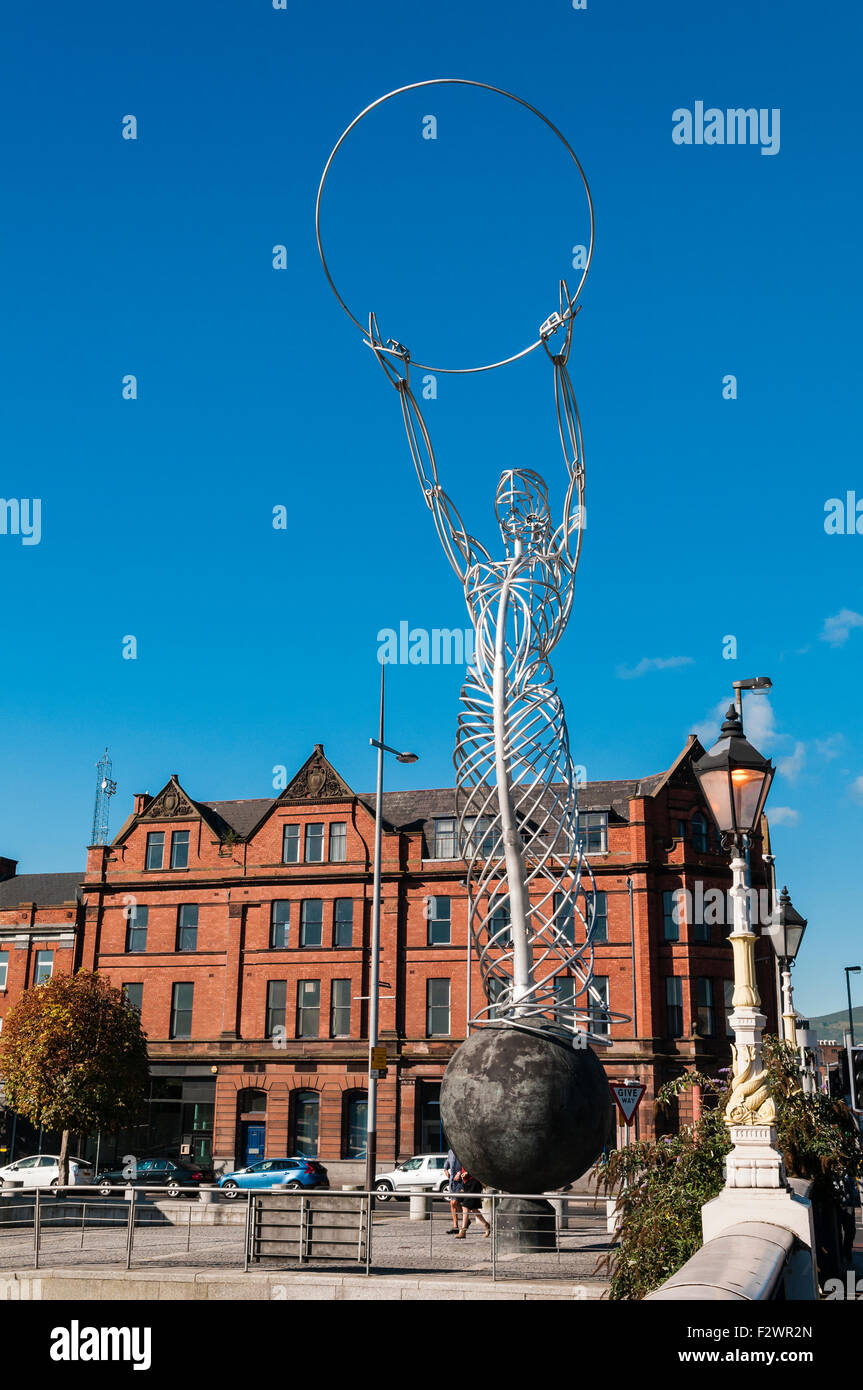 The Beacon of Hope, Belfast - Stock Image