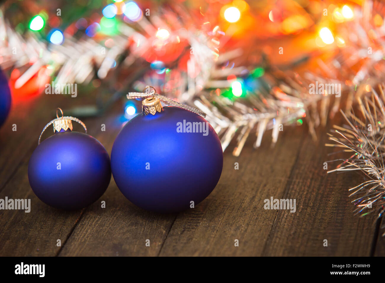 Christmas decorations - Stock Image