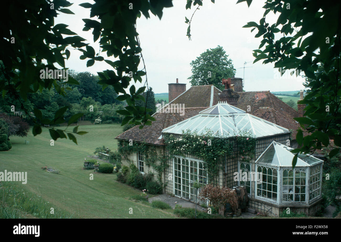 Exterior of Reddish House, former home of Sir Cecil Beaton - Stock Image
