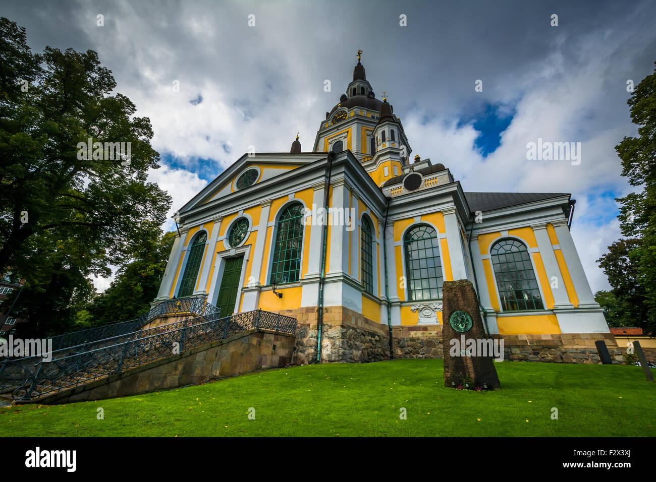 Katarina kyrka, in Södermalm, Stockholm, Sweden. - Stock Image