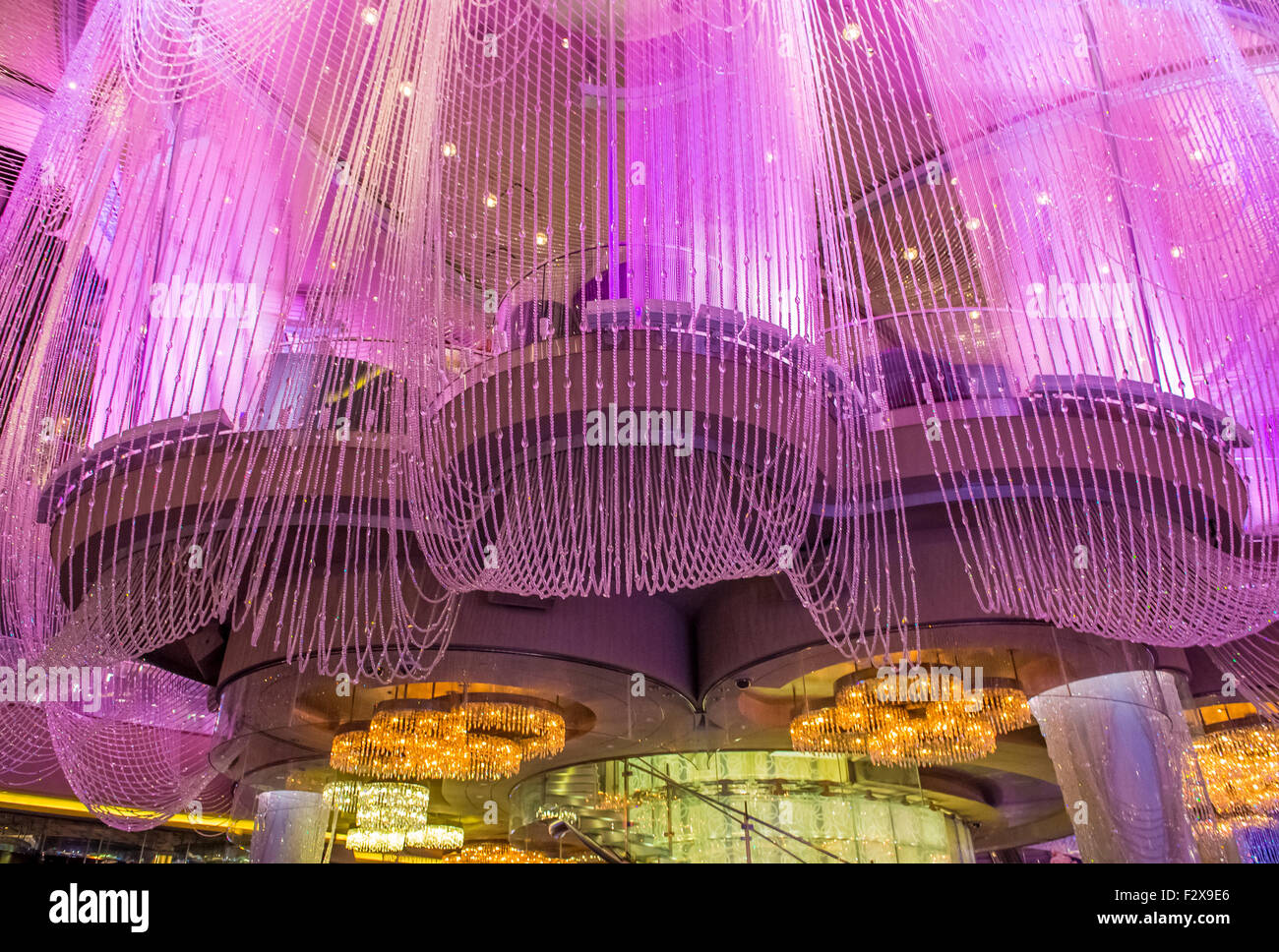 The chandelier bar at the cosmopolitan hotel casino in las vegas the chandelier bar at the cosmopolitan hotel casino in las vegas arubaitofo Image collections