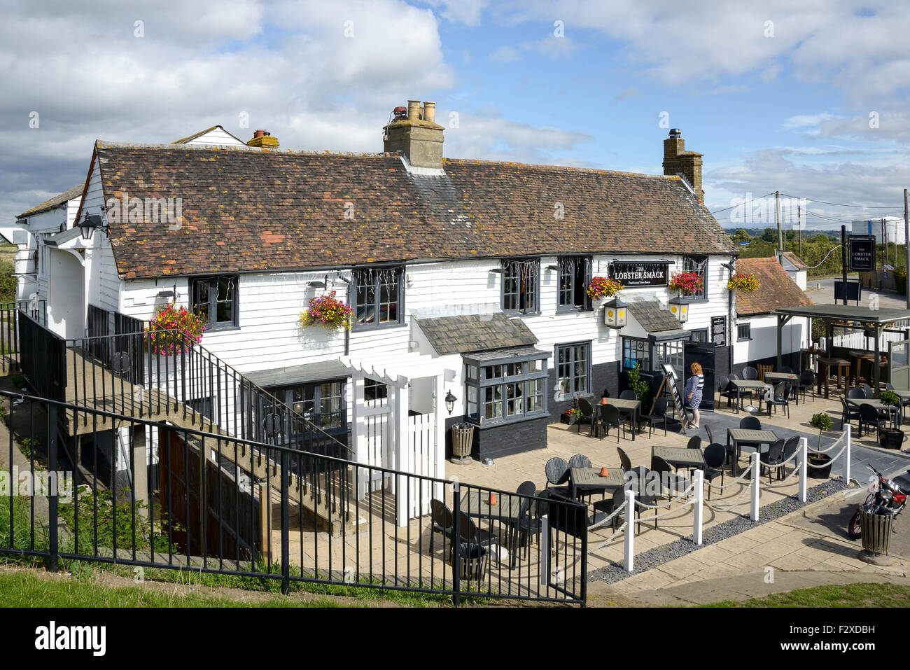 The Lobster Smack Pub, Haven Road, Canvey Island, Essex, England, United Kingdom - Stock Image