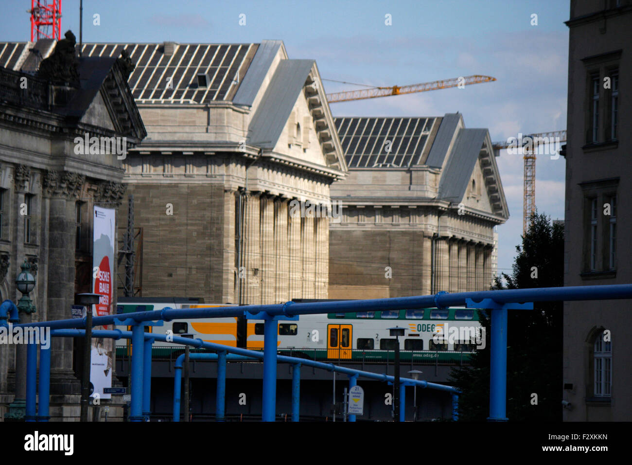 Pergamon Museum, Museumsinsel, Berlin-Mitte. - Stock Image