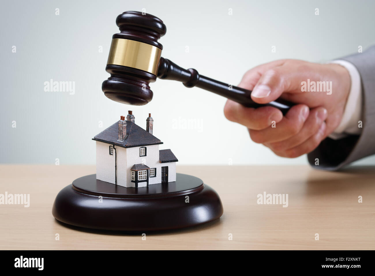 House auction - Stock Image
