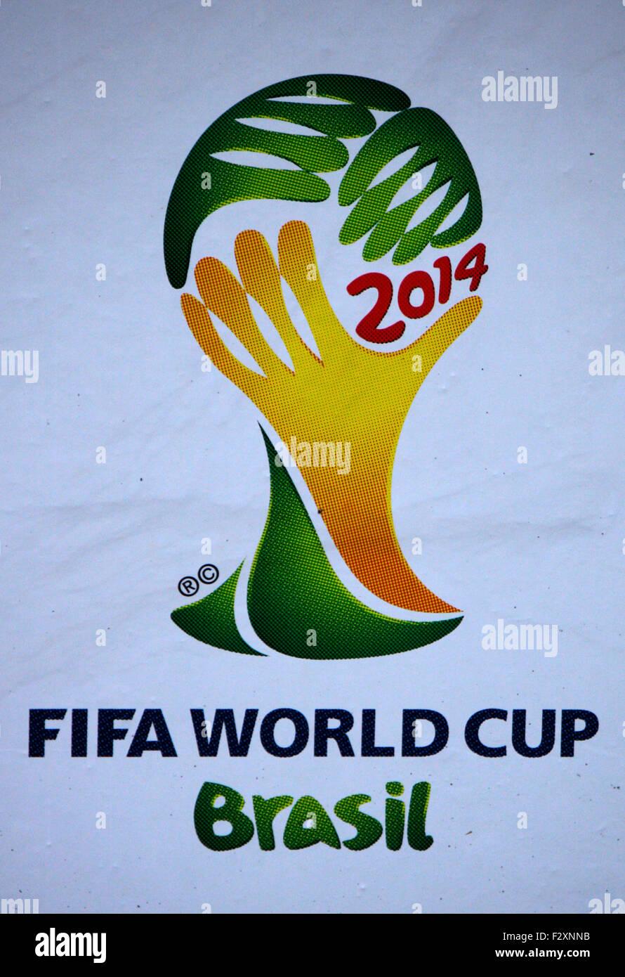 Markenname: 'FIFA World Cup Brasil', Berlin. - Stock Image