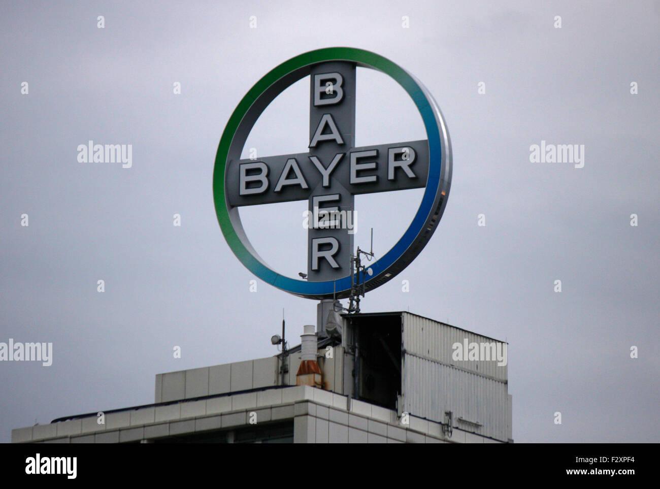 Markenname: 'Bayer AG', Berlin. - Stock Image