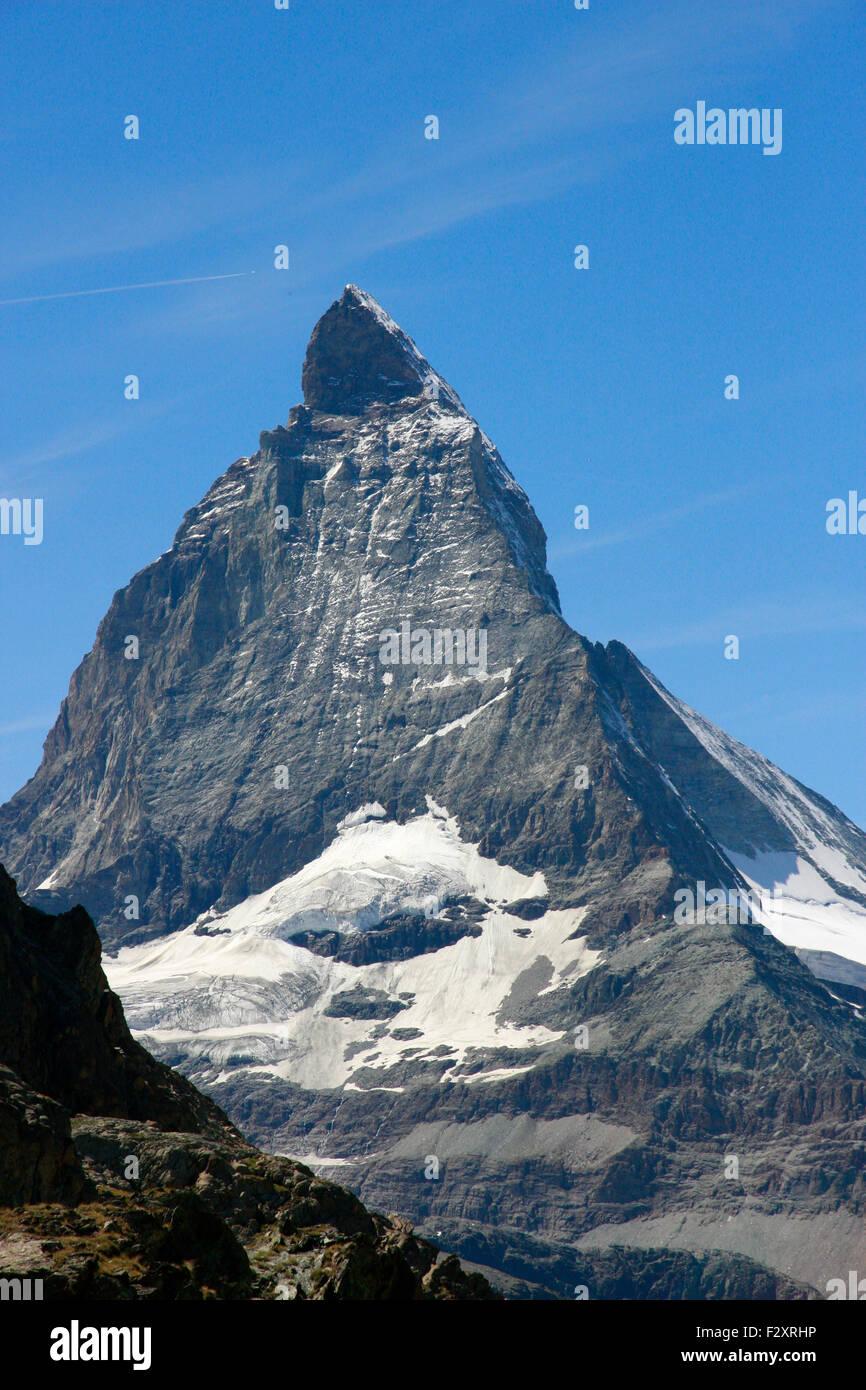 Matterhorn, Kanton Wallis, Schweiz/ Switzerland. - Stock Image