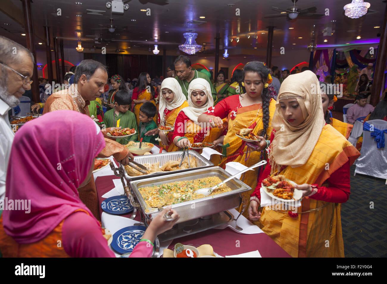 Time For Some Eats At A Bangladeshi Muslim Wedding