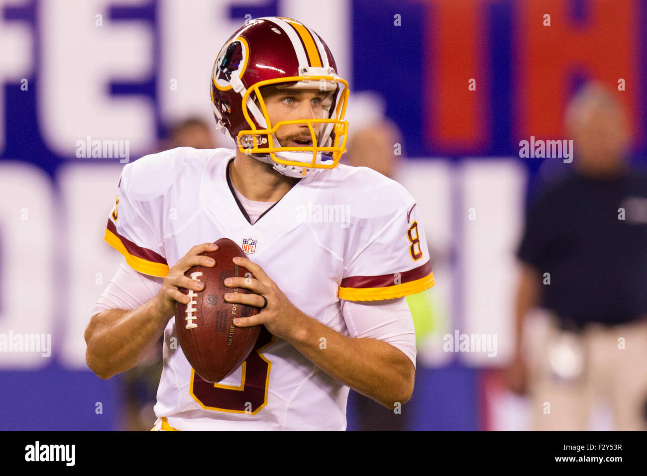 Nice September 24, 2015, Washington Redskins quarterback Kirk Cousins (8  for cheap