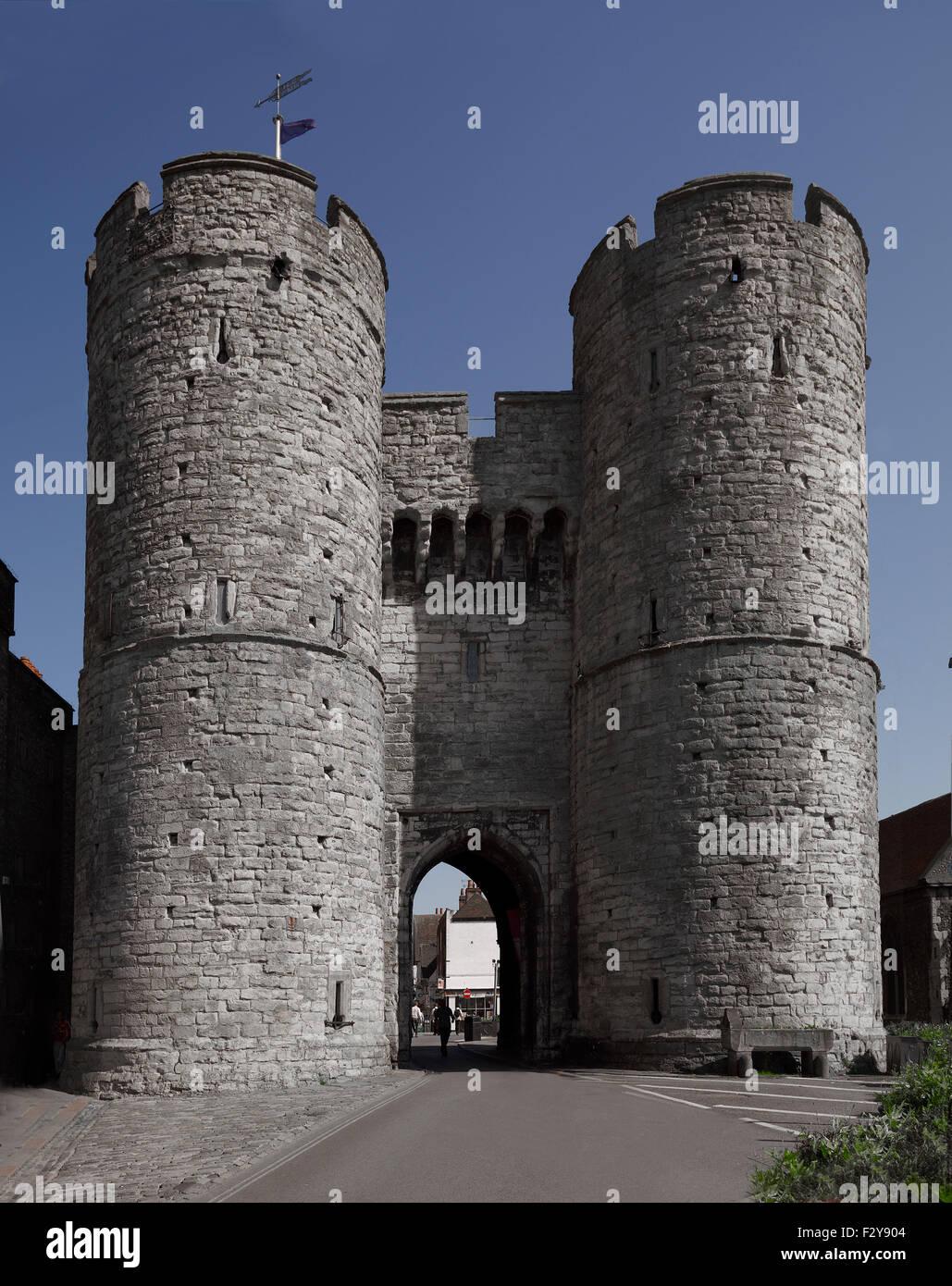 Canterbury, Westgate, Kent. - Stock Image