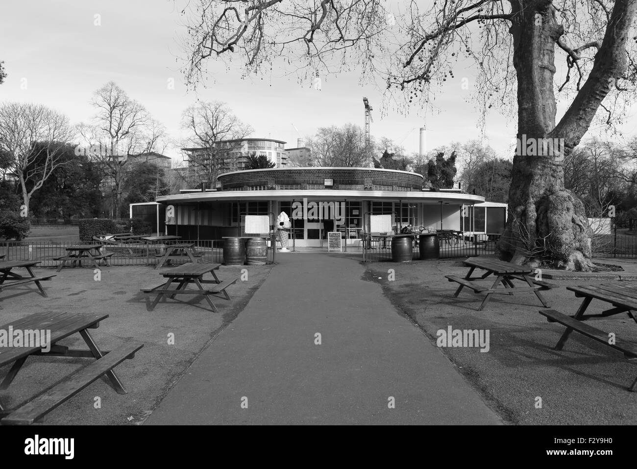 Battersea Park - Stock Image