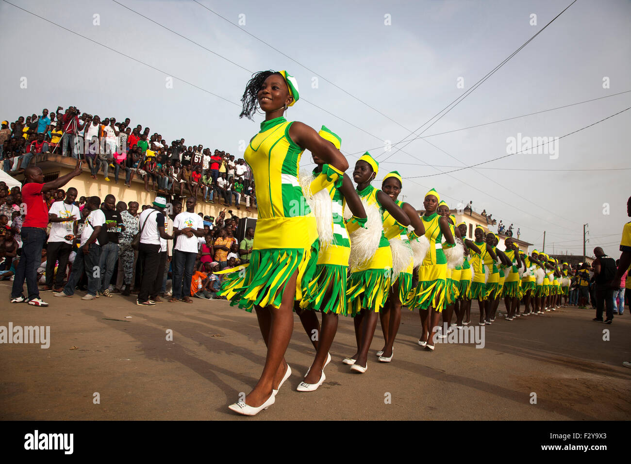 Bonoua Carnival, Ivory Coast - Stock Image