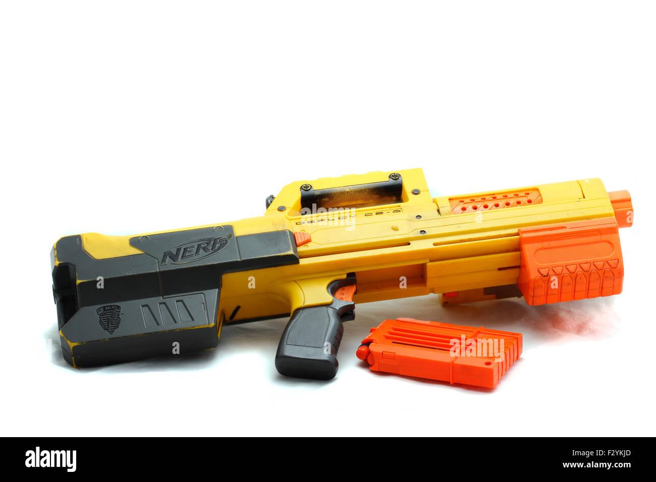 Nerf Gun Stock Photos & Nerf Gun Stock Images - Alamy