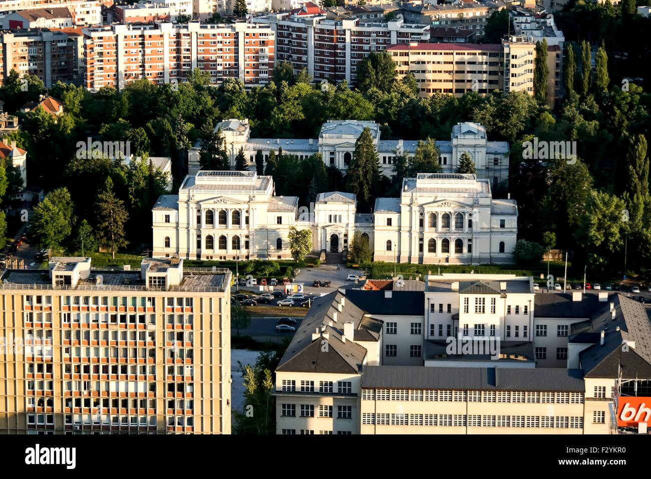 The National Museum of Bosnia and Herzegovina - Stock Image