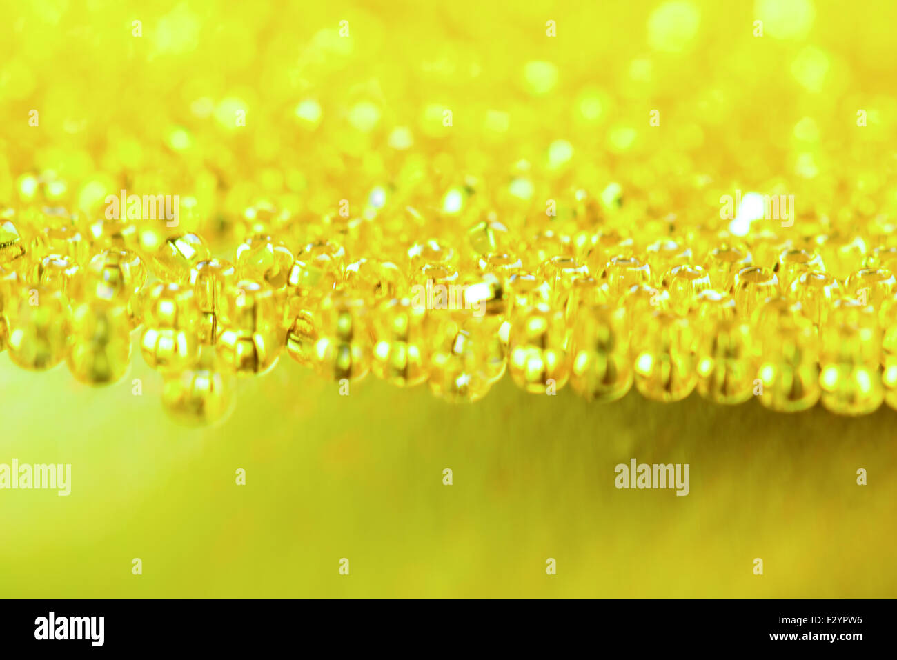 Yellow - green shine abstract background for your design - Stock Image