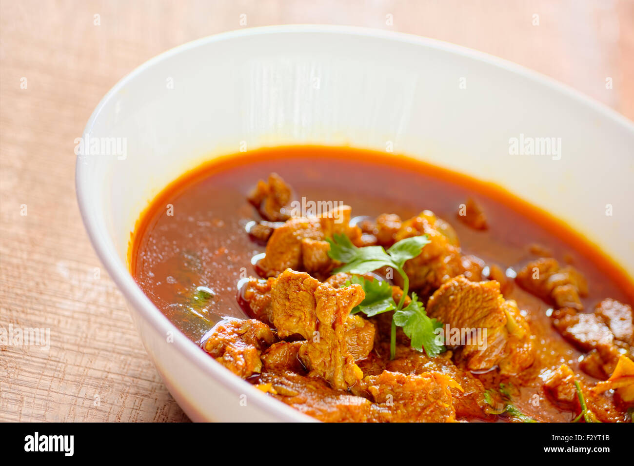 mutton rogan josh, mutton curry, Indian cuisine - Stock Image