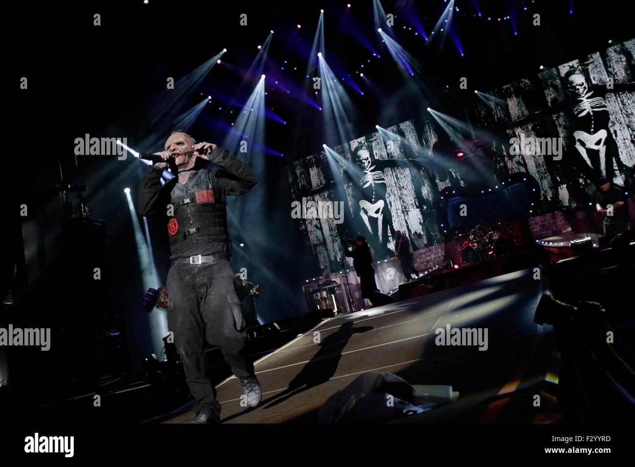 Rio de Janeiro, September 25th, 2015- Rock in Rio  Slipknot