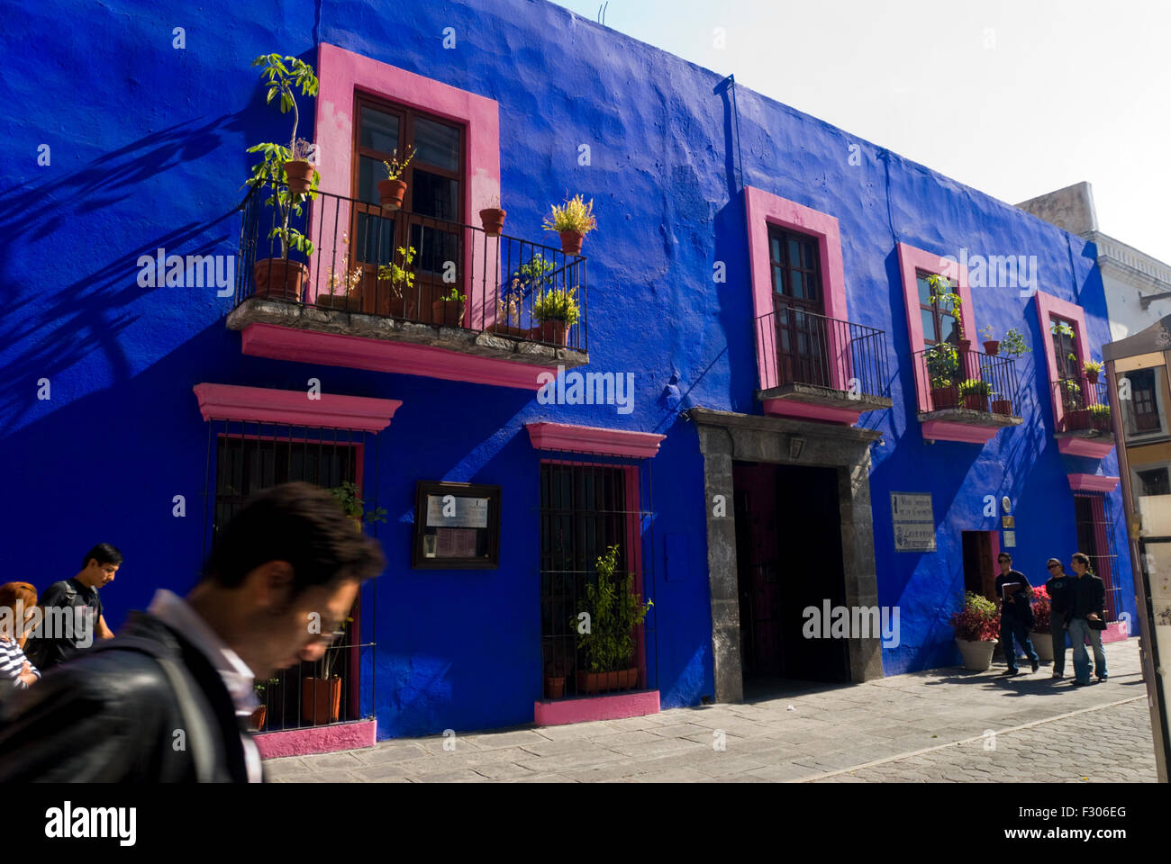 San Christies restaurant in Puebla, Mexico.  Famous for mole. - Stock Image