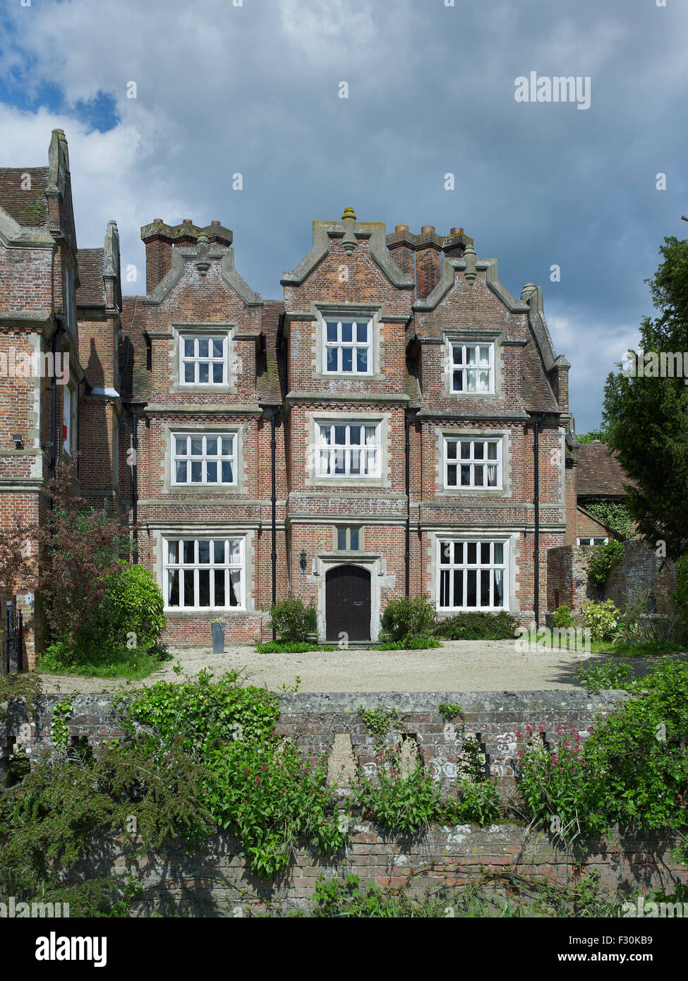 Hollingbourne Manor, Kent - Stock Image