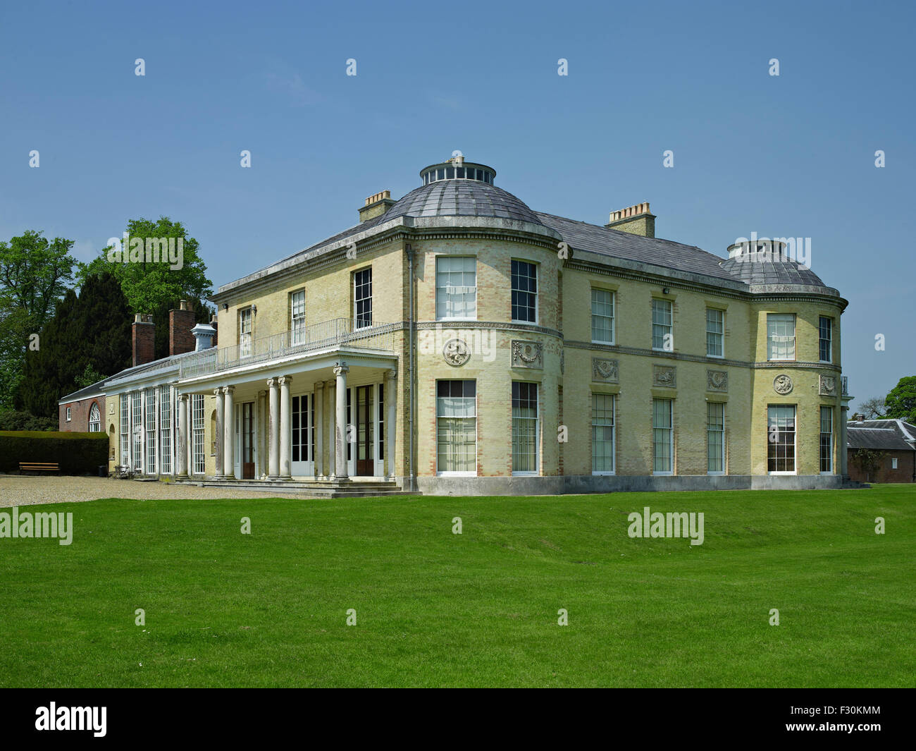 Belmont House, Throwley, Kent - Stock Image