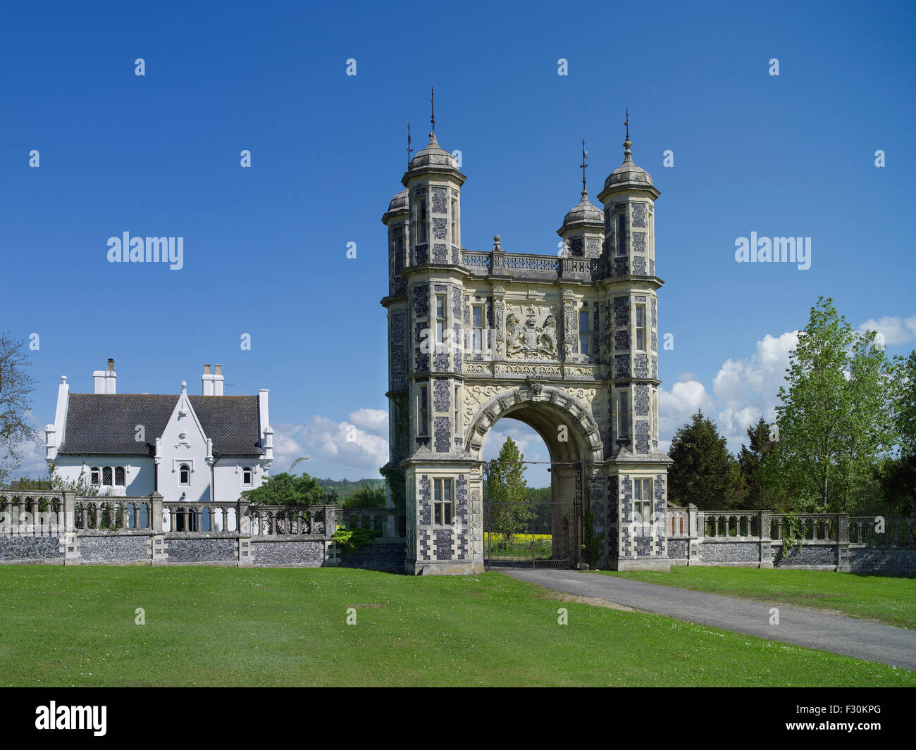Eastwell, Tower Lodge, Kent - Stock Image