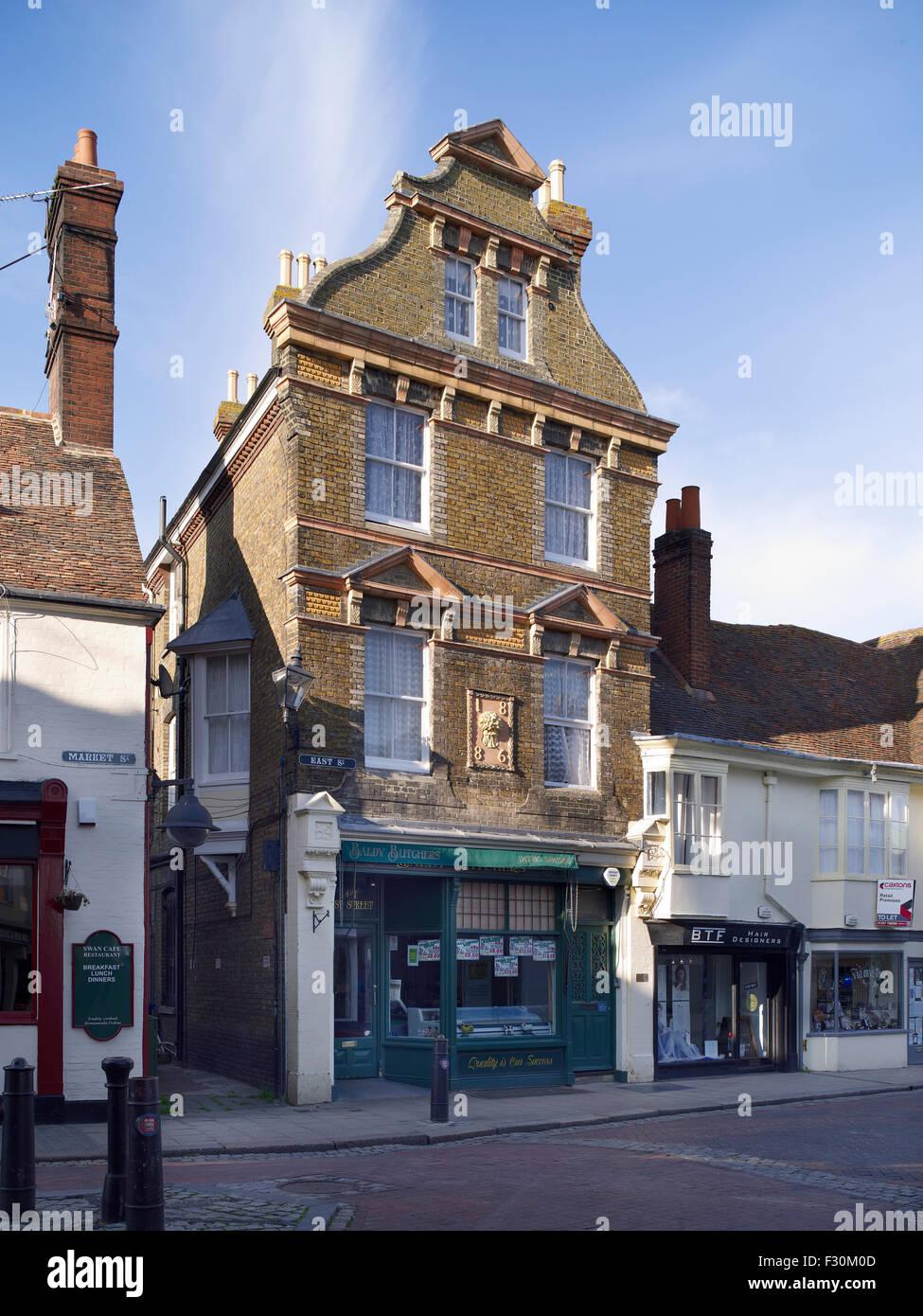 No 1 East Street, Faversham, Kent Stock Photo