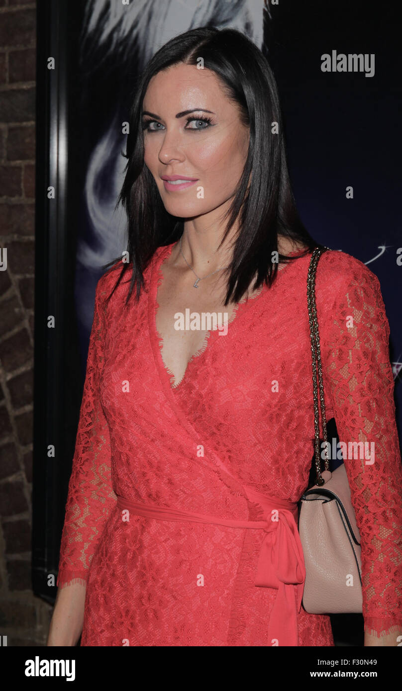 London, UK, 14th July 2015: Lizzie Stoppard attends Dusty the Musical First Night gala at the Charing Cross Theatre, - Stock Image