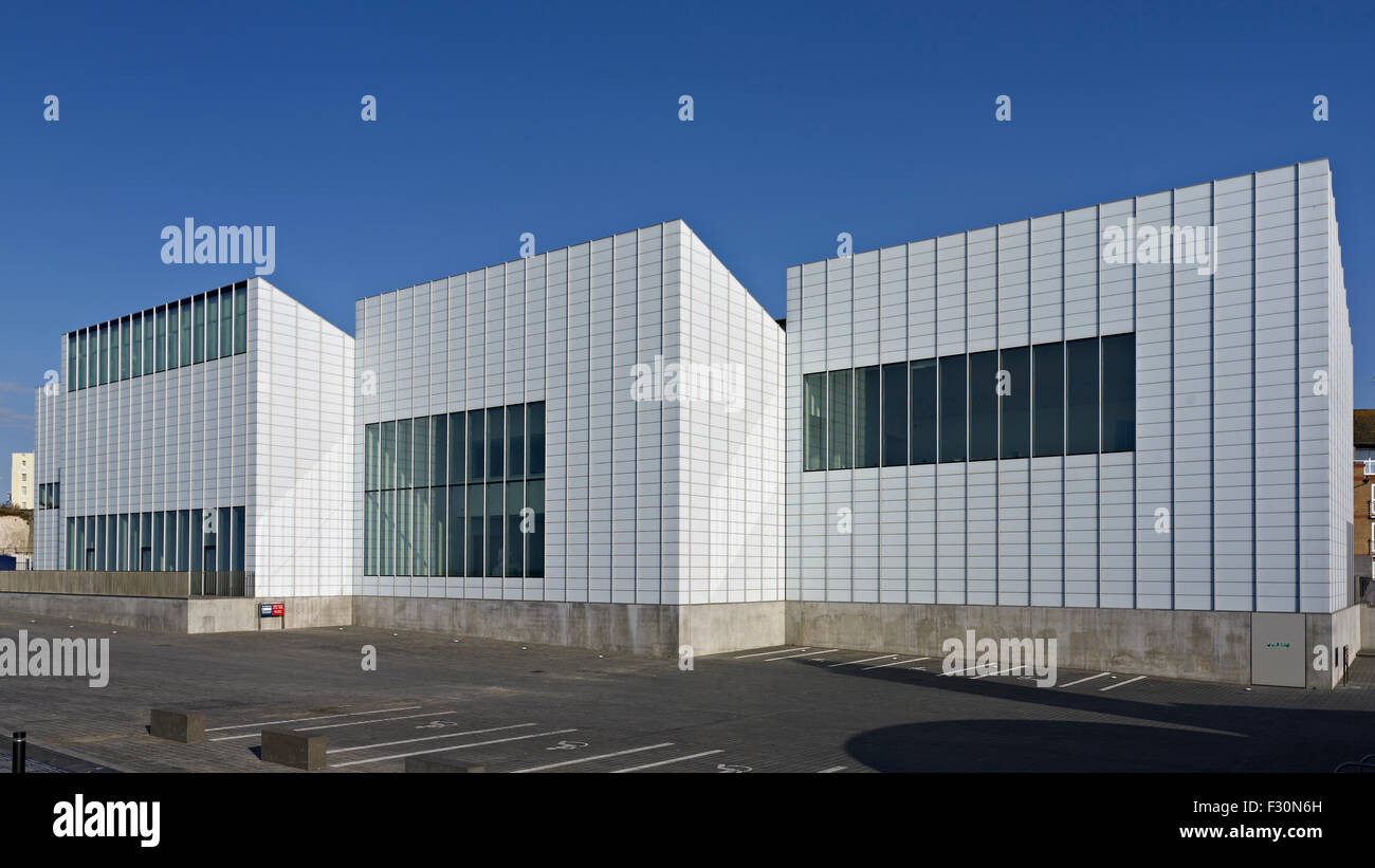 Margate Turner Contemporary Gallery 2008-11by David Chipperfield. - Stock Image