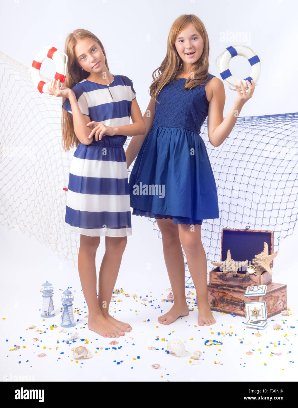 Blue Outfits for Teenage Girls