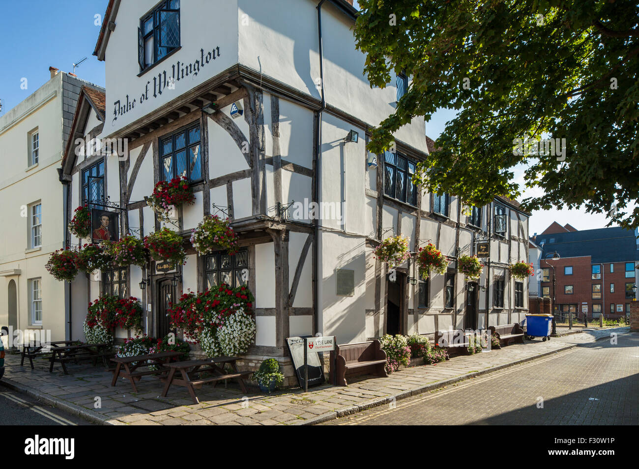 Duke of Wellington pub in Southampton, Hampshire, England. - Stock Image