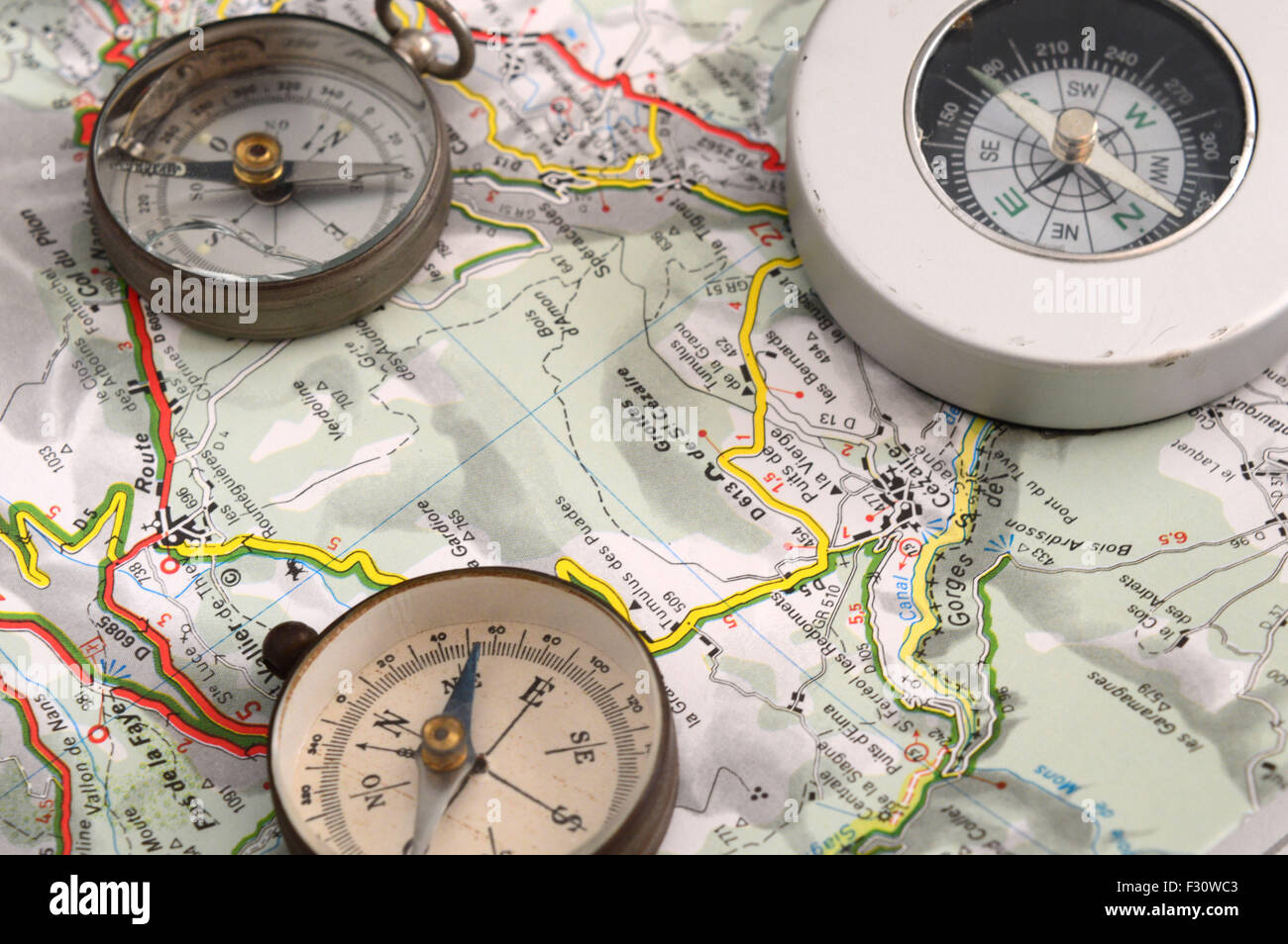 The exploration - Stock Image