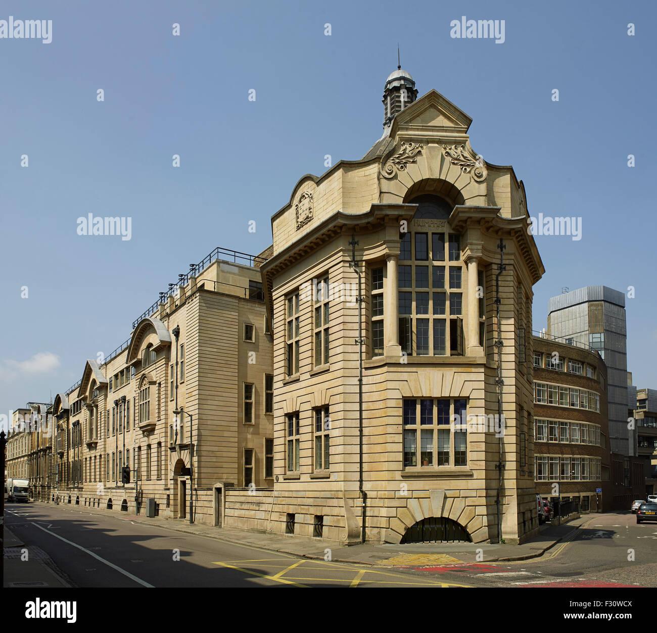 Cambridge University, Zoology Department - Stock Image