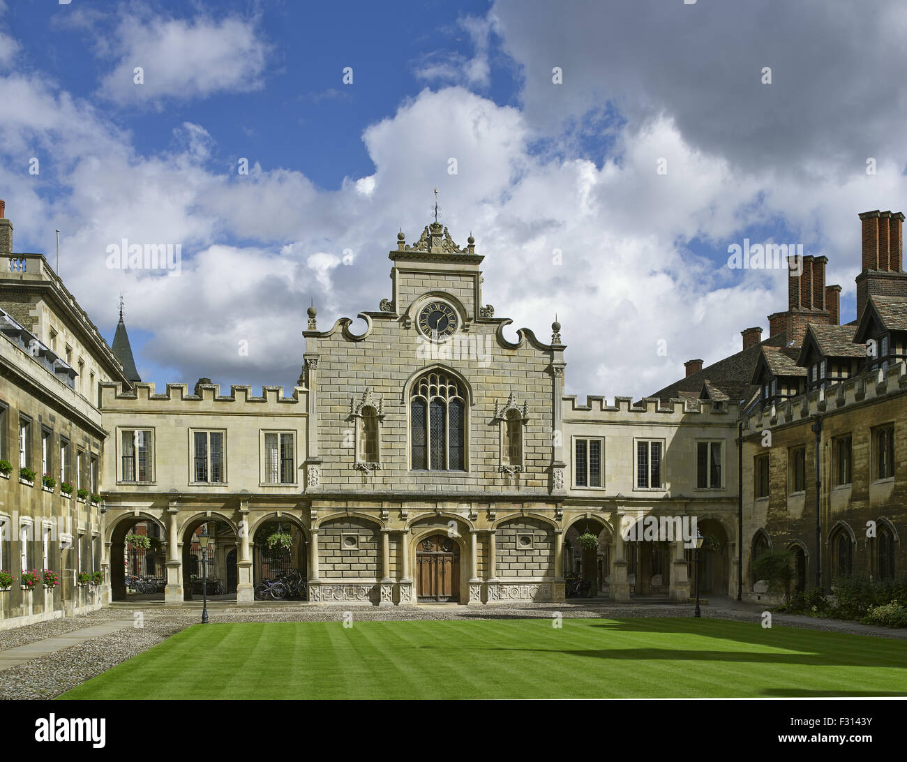 Cambridge University, Peterhouse College, Chapel. - Stock Image