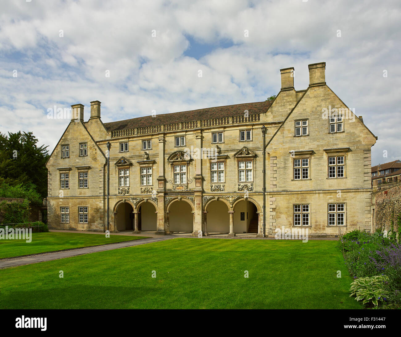 Cambridge, Magdalene College, Pepys Building - Stock Image