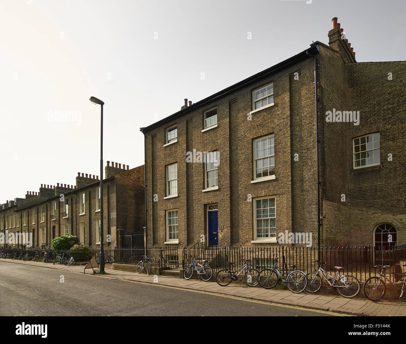 Cambridge, Jesus Lane - Stock Image
