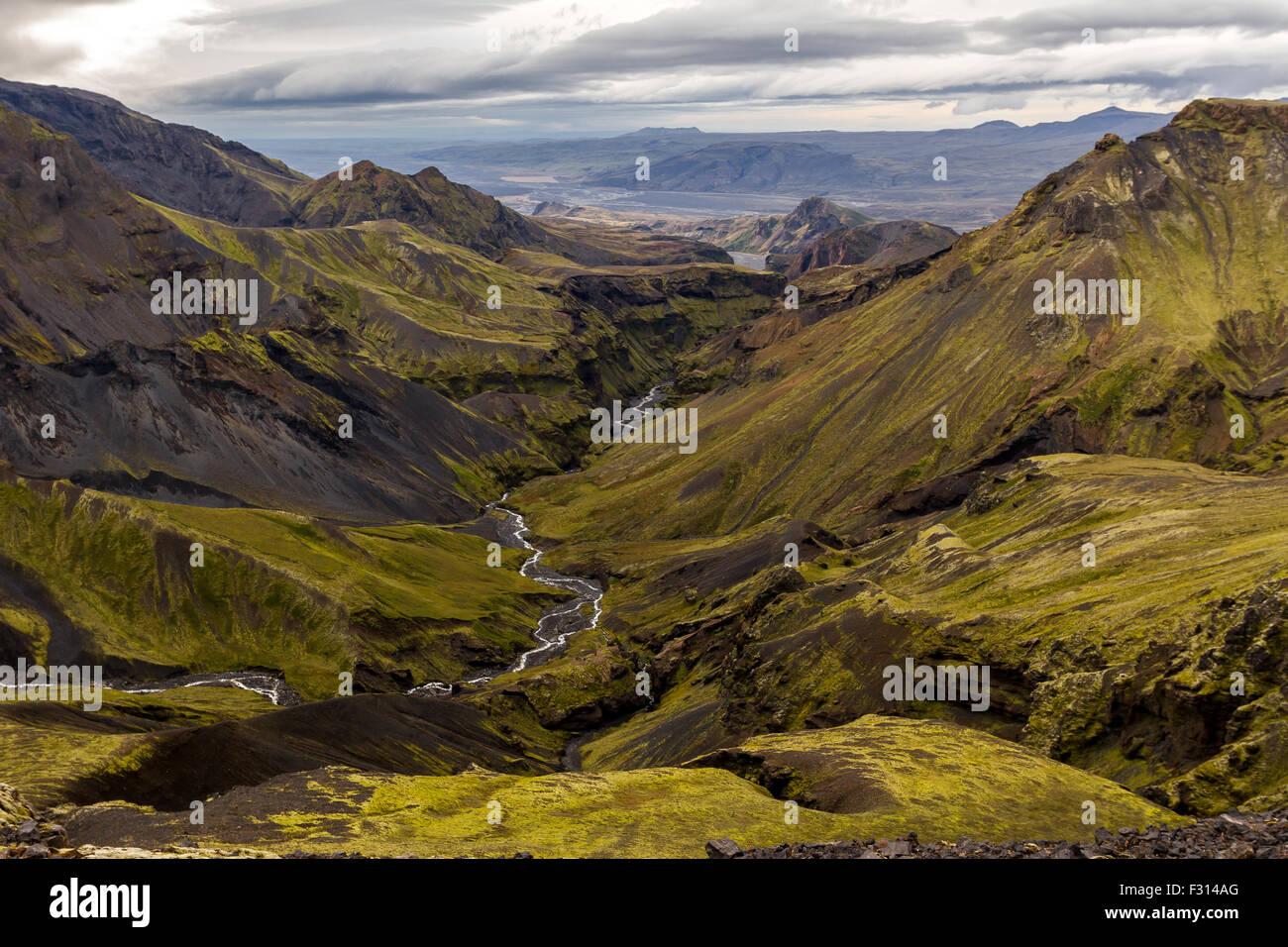 Goðaland, Iceland - Stock Image