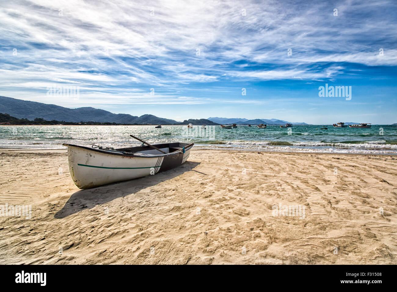 Beautiful landscape in Florianopolis, Santa Catarina, Brazil. One of the main tourists destination in south region. - Stock Image