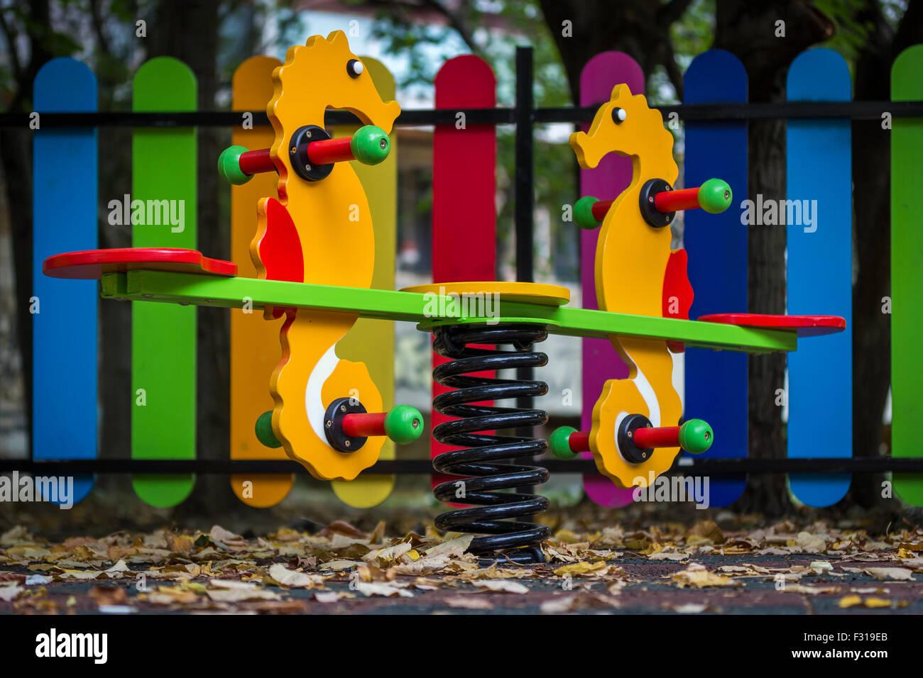 Kid`s Playground - Stock Image