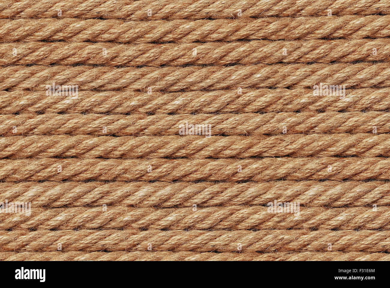 sail rope texture closeup detail Stock Photo