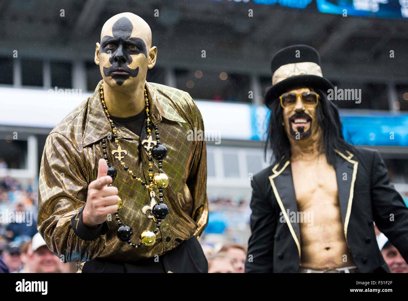 cb2e0b24b New Orleans Saints fans during the NFL football game between the New  Orleans Saints and the Carolina Panthers on Sunday, Sep. 27, 2015 in  Charlotte, NC.