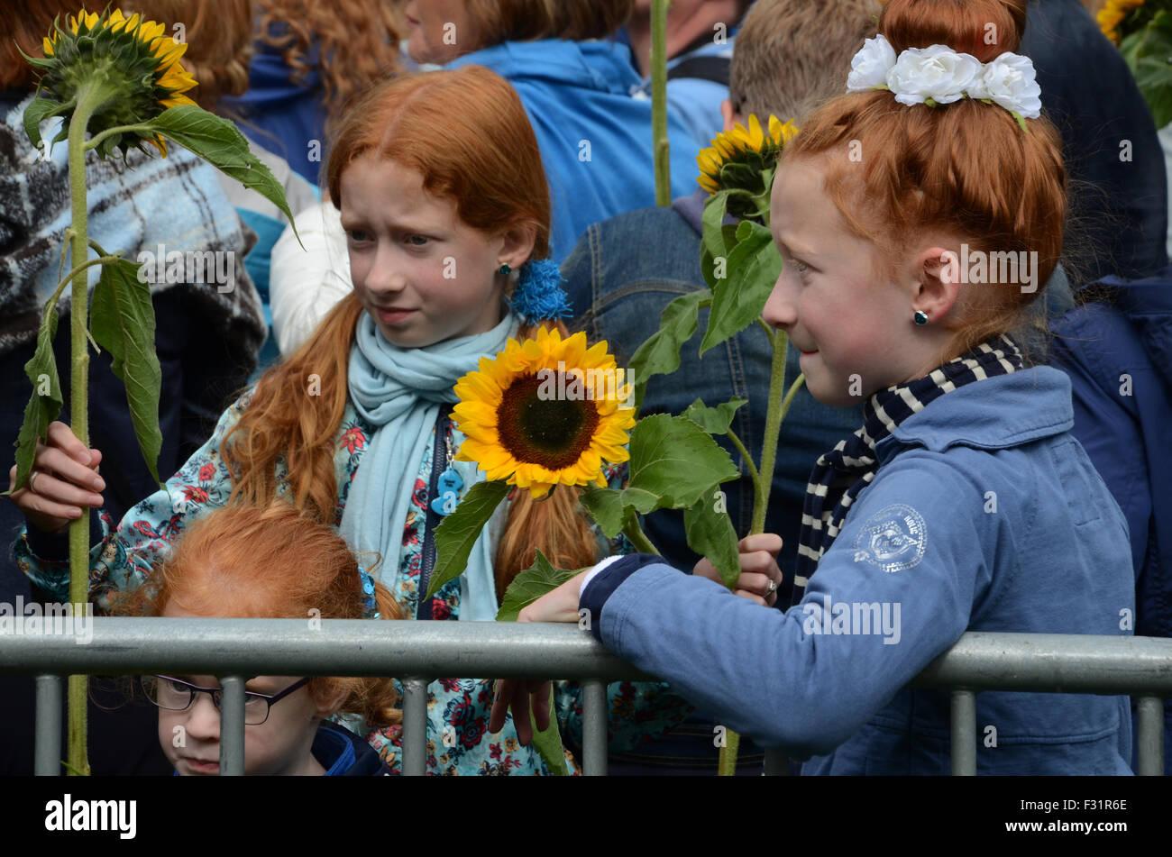 Impression of Redhead days 2015, Breda, Netherlands - Stock Image