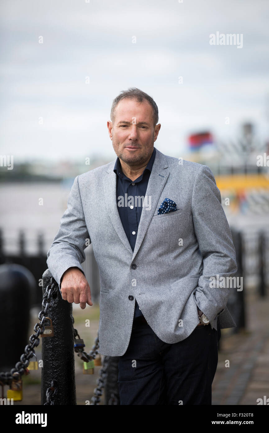 Former left-wing British politician, Derek Hatton, pictured in his home city of Liverpool. Hatton is a former politician, - Stock Image