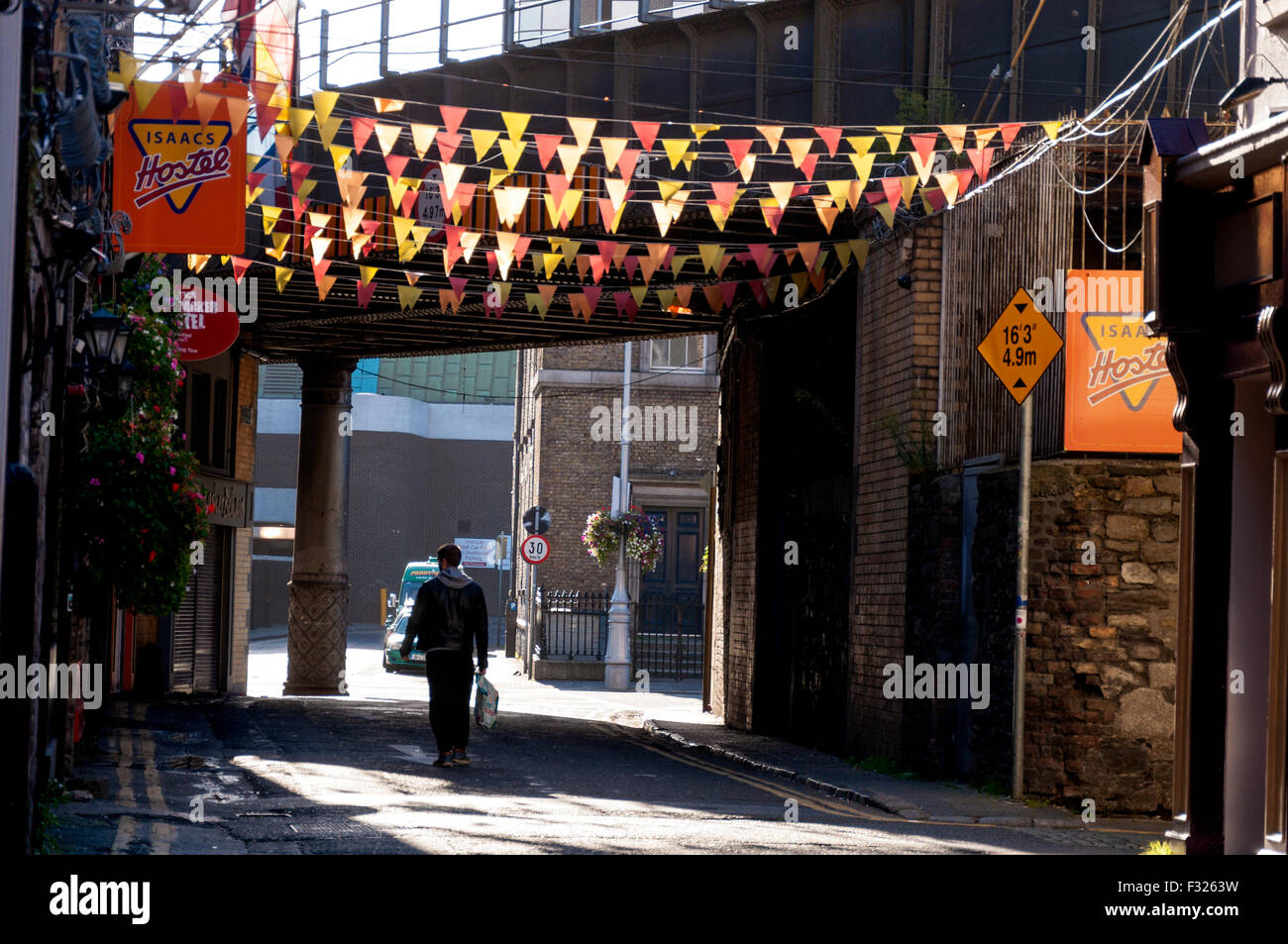 Frenchman's Lane,  Dublin 1, Ireland - Stock Image